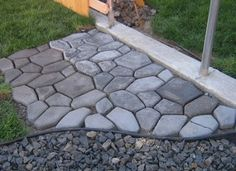 How to Make Your Own Concrete Paver Stepping Stones – DIY Project