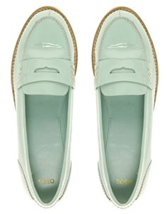cute mint loafer :)