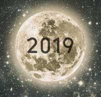 2019 Full Moon And New Moon Calendar Next Full Moon New Moon