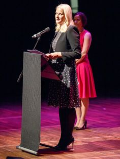 kongehuset.no:  Crown Princess Mette-Marit attended and opened the 2015 Norwegian Festival of Literature, Lillehammer, Norway, May 26, 2015