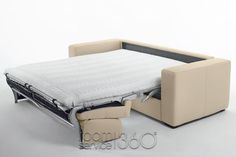 Fully Opened Queen Size Bed (Capri Sleeper by Gamma)
