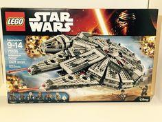 Force Awakens Lego Star Wars 75105 Millennium Falcon with Minifigs SEALED | eBay
