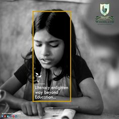 Woodland Overseas School, the best CBSE school in Hoshiarpur is a team of professionals who work hard to foster quality educational system for the children. Amazon Education, International Literacy Day, Student Of The Month, Literacy Skills, Creative Advertising, Theta, Life Changing, A Team, Creative Design