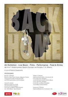 Back Home, mostra di Gian Paolo e Marcello Tomasi, dal 4 al 7 ottobre 2012