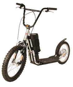 Diggler Cruiser - Electric Stand Up Scooter with 600 Watt Hub Motor- The Most Safe and Easy to Ride Battery Powered Scooter