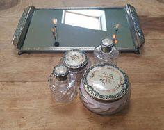 Vintage 5 Piece Dressing Table Vanity Set