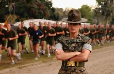 Marine Corps Women Drill Instructors | Recent Photos The Commons Getty Collection Galleries World Map App ...
