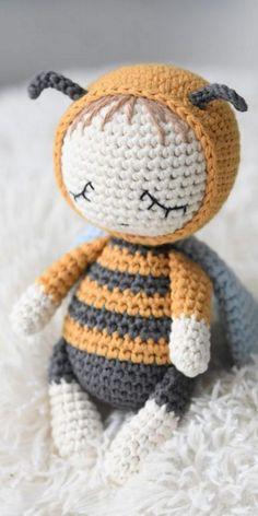 Crochet Cat Pattern, Crochet Doily Patterns, Crochet Animal Patterns, Stuffed Animal Patterns, Crochet Patterns Amigurumi, Amigurumi Doll, Crochet Animals, Crochet Dolls, Crochet Baby