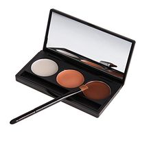 Chinatera Professional 3 Color Face Cream Concealer and Foundation Contour Makeup Palette with Mirror -- Read more reviews of the product by visiting the link on the image.