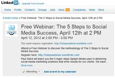 How to Create and Promote your LinkedIn Events