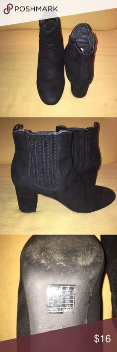 Black Ankle Boots Black Ankle Heels Boots Forever 21 Shoes Platforms