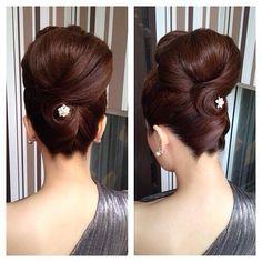 Peinado elegante #peinados #elegante #cabello #hairstyle