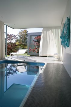 Create a spa-like feel in your home. Add an Endless Pool and start swimming in the privacy of your own home.