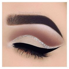 Cut crease ❤ liked on Polyvore featuring beauty products, makeup, eye makeup, eyes, beauty and filler