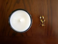 Chamomile Soy Candle - Calming Relaxing and Soothing. Home, Gift idea, Mothers Day