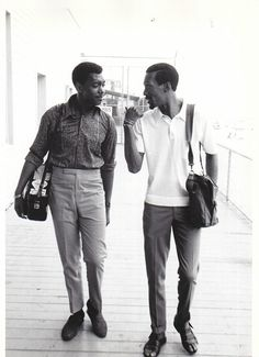 The Temptations' Otis Williams & Eddie Kendricks