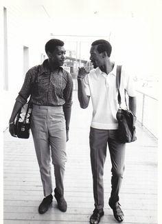 The Temptations' Otis Williams & Eddie Kendricks