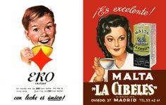 Eko Instant y Malta La Cibiles, años 60.