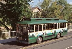 Pigeon Forge Fun Time Trolley   #PigeonForge #Pin2Win