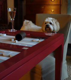 Everyone loves the oomph backgammon table!