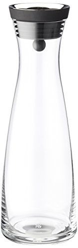 WMF Basic Water Carafe/Decanter 1.5l Black Buy this and much more home & living products at http://www.woonio.co.uk/p/wmf-basic-water-carafedecanter-1-5l-black/