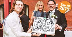 Top 10 Caricaturists For Hire 2017