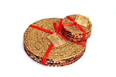 African handmade Trivet and coaster sets available at www.nuerasamp.com.