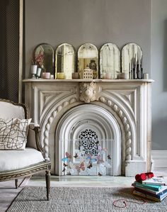 Hilary Robertson is a British interior stylist who loves vintage and antiques.