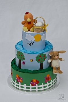 Easter Nappy Diaper Cake