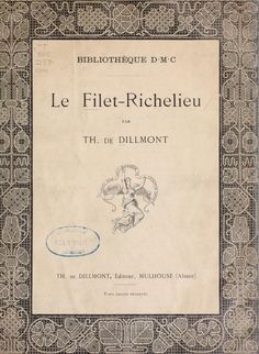 Le Filet-Richelieu lace