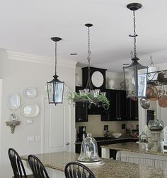 recessed lighting conversion to lanterns