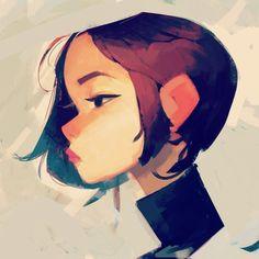 kool girl. 40/100. by samuelyounart