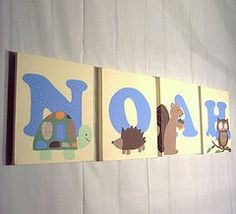 baby boy room decor set