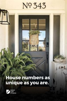House Paint Exterior, Exterior House Colors, Exterior Design, Arizona, House Numbers, Exterior Makeover, House Front, Front Porch, Farmhouse Style
