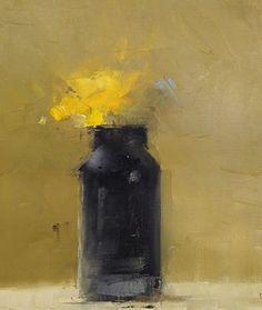 Black and Yellow by Mary Jo O'Gara ~ 12 x 9