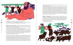 La mythologie grecque, Sylvie Baussier, illustrations Gwendal Le Bec, Gallimard Jeunesse