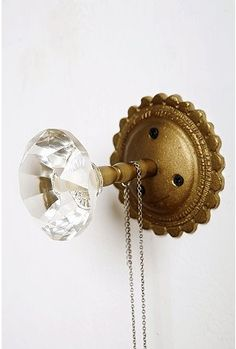 Love glass doorknobs