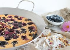 Blaubeer-Pfannkuchen