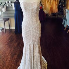 Pippin, from Willowby by Watters. Available at Pence and Panache Bridal Boutique, 682-224-3484, Facebook.com/penceandpanache!