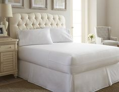 Fancy - Home Collection™ Premium Waterproof Terry Cotton Top Mattress Protector