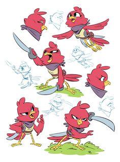 Character Designs — DerekLaufman.com