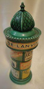Rare Vintage Lanvin 1950 French Porcelain Counter Display   eBay