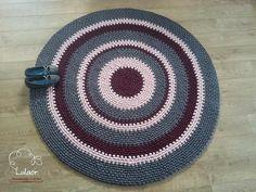 Häkeln von runden Teppich Stoff Garn rund Teppich von Lulaor