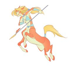 DAY 2 - Centaur by Yuliandress on deviantART