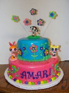 I might make it 3 tier with a green on the top and decorate different