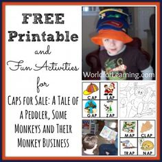 Caps for Sale FREE Printable {World For Learning}