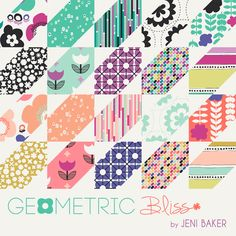 Sneak Peek: Geometric Bliss | Jeni Baker for Art Gallery Fabrics