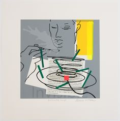 Invisible Soup by Bruce McLean