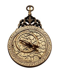 """Incomplete astrolabe (fake rete) by Muhammad Sharif ibn Muhammad, Kirmn, India, c.1780; 35 star markers @AdlerPlanet https://t.co/R5UQvfxNzd"""