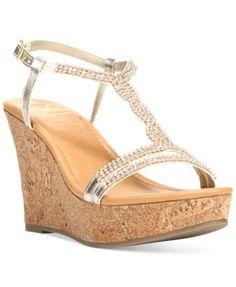 Fergalicious Kara Platform Wedge Sandals | macys